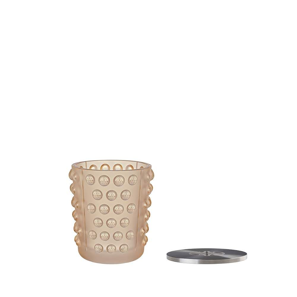 VASO CANDLE MOSSI - GOLD