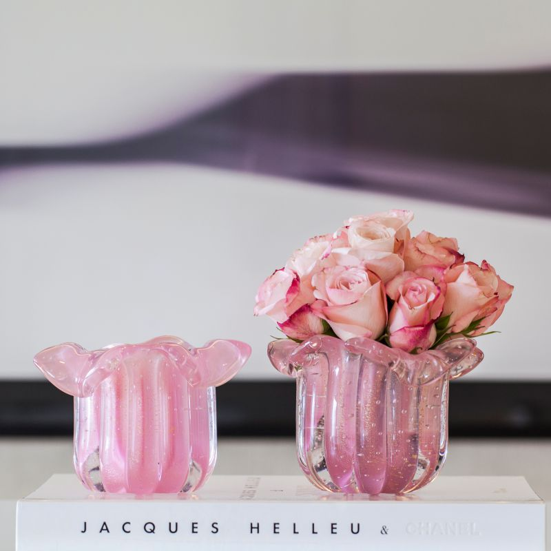 Vaso Fiori - Rosa Chiclete