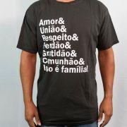 CAMISETA- ESSÊNCIA DA FAMILIA