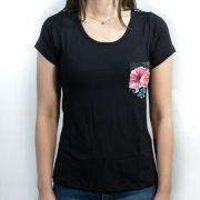 Camiseta- Familia Floral Feminina