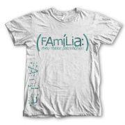 Camiseta Infantil - Família Meu Maior Patrimônio