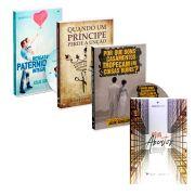 Combo - Dvd's Por que bons casamentos tropeçam, em coisas ruins, quando um príncipe perde a unção +resgatando a paternidade integral  e livro Céus Abertos - Carlito Paes