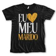 Camiseta - Eu amo meu Marido