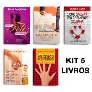 KIT 5 LIVROS- CASAMENTO