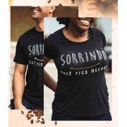 Kit Camisetas Sorrindo você fica melhor masculina e feminina