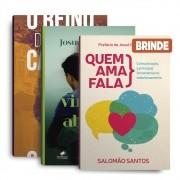 KIT DE LIVROS- REINO + PREFERI ABRAÇAR+QUEM AMA FALA