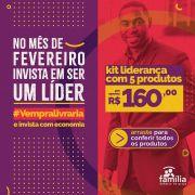 KIT LIDERANÇA- 4 LIVROS + LIVRO EXCLUSIVO