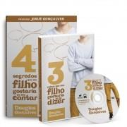 KIT- LIVRO 4 SEGREDOS QUE SEU FILHO GOSTARIA DE TE CONTAR + DVD 3 COISAS QUE SEU FILHO GOSTARIA DE TE DIZER
