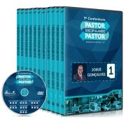 KIT - PASTOR DISCIPULANDO PASTOR 2018 (10 DVDS)