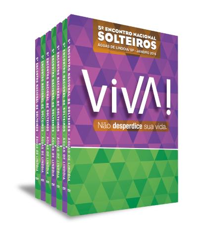 5º ENCONTRO NACIONAL DE SOLTEIROS 2016 (7 DVDS)