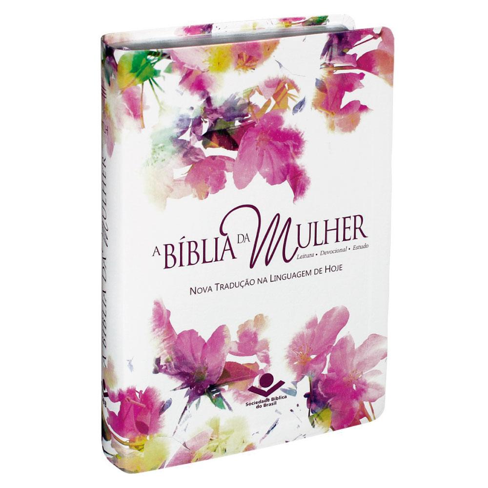 BIBLIA DA MULHER CAPA AQUARELA
