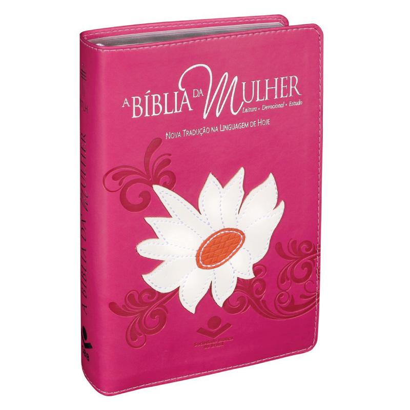 BIBLIA DA MULHER CAPA MARGARIDA