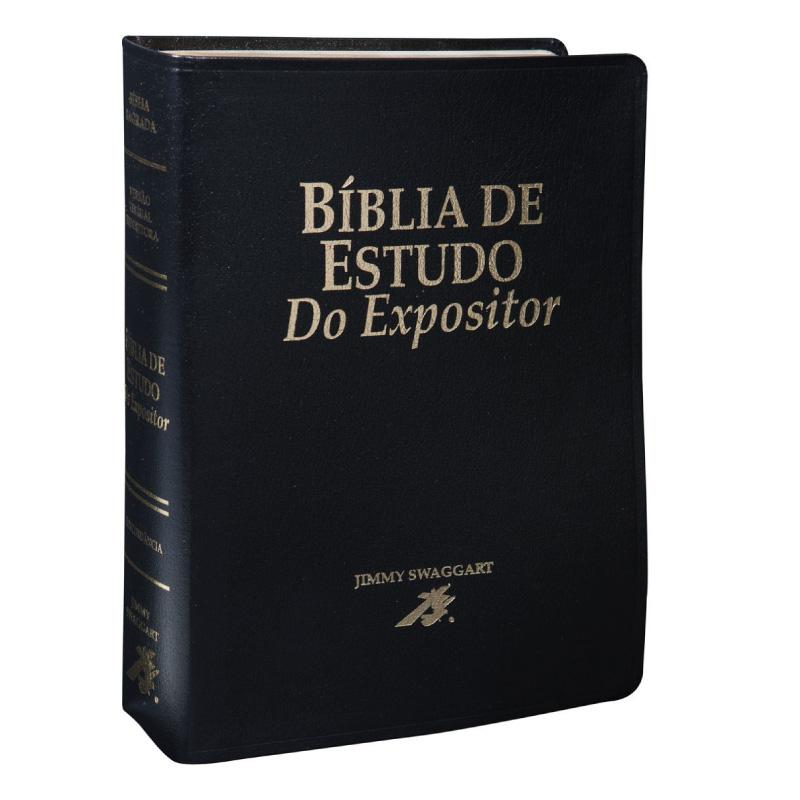 BIBLIA DE ESTUDO DO EXPOSITOR - PRETA