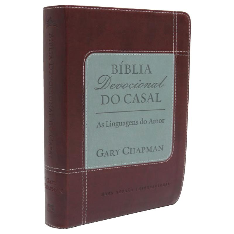 Bíblia Devocional do Casal  (Marrom)