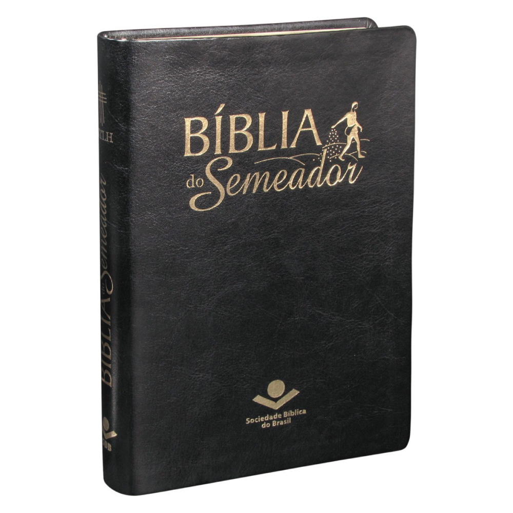 NTLH065BS:CR:BIBLIA SEMEADOR CP SINTETICO PRETO