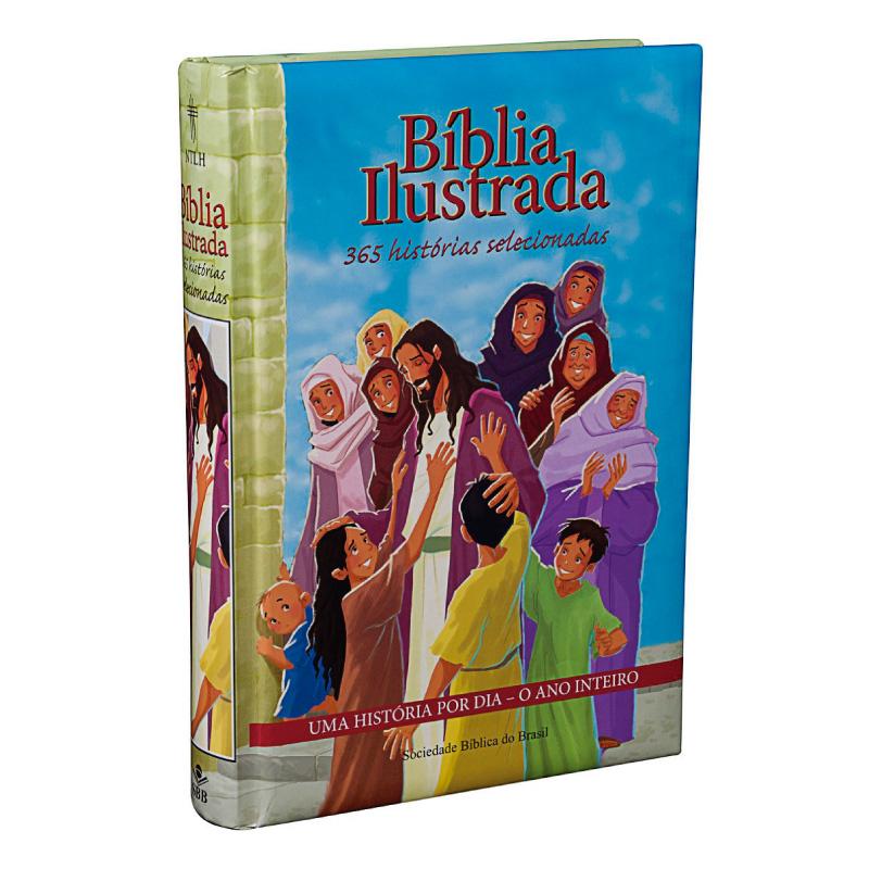 BÍBLIA ILUSTRADA 365 HISTÓRIAS SELECIONADAS
