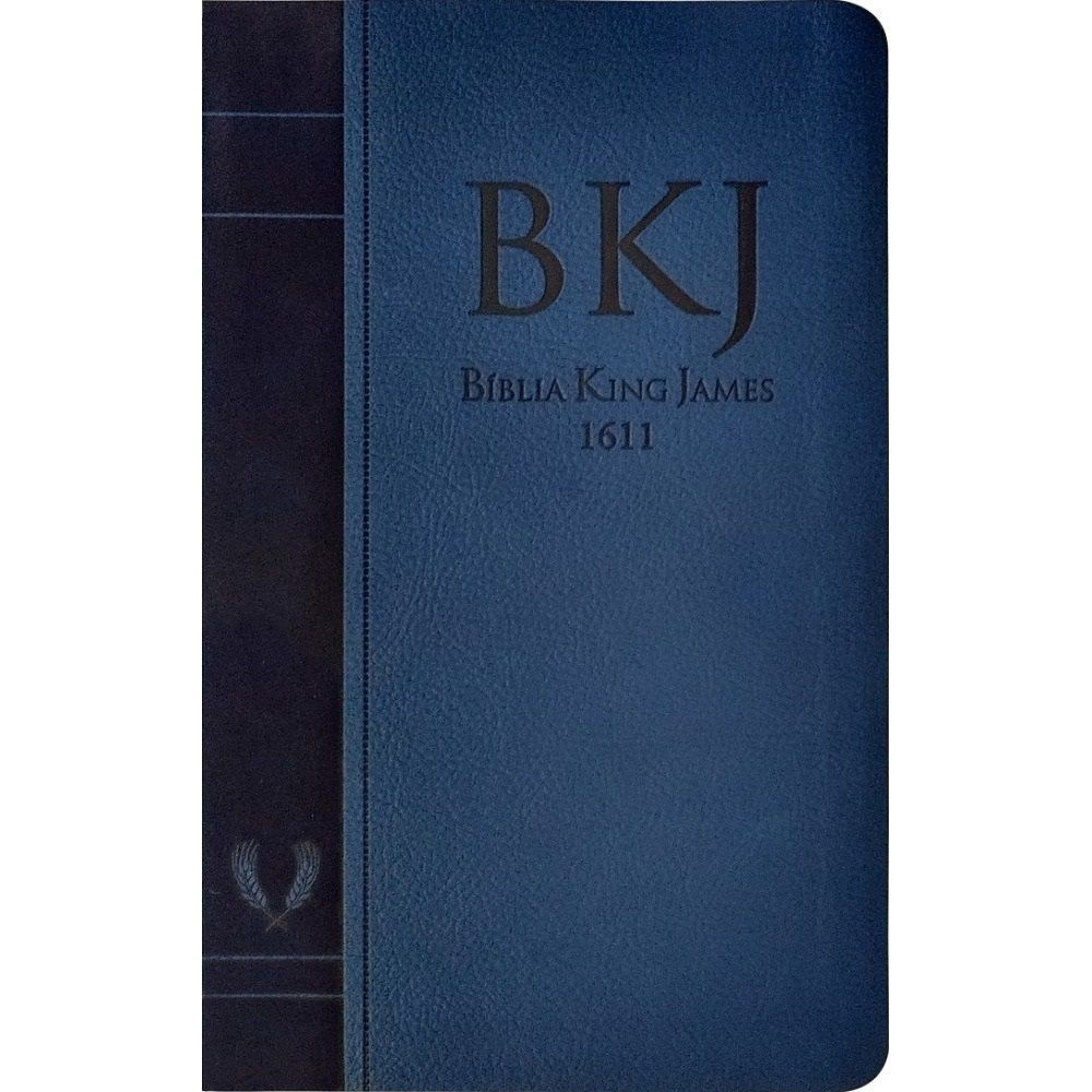 BIBLIA KING JAMES FIEL 1611 - AZUL