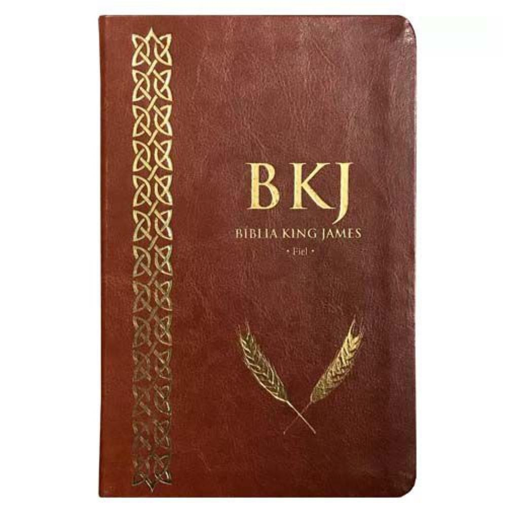 BIBLIA KING JAMES FIEL 1611 - MARROM