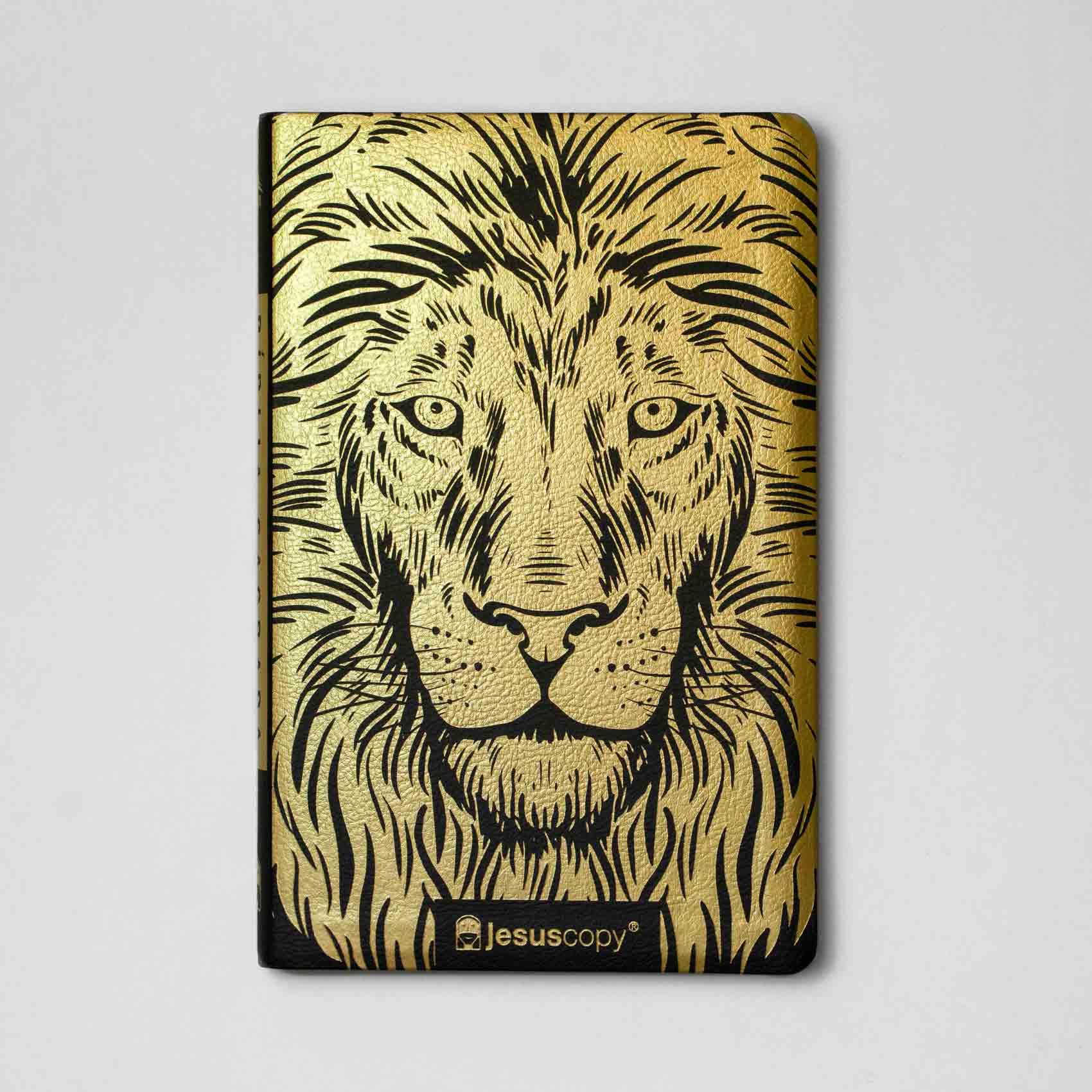 Bíblia  Leão Dourada Jesus Copy