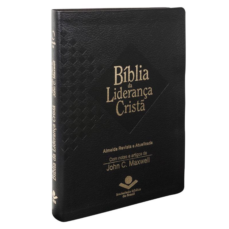 Bíblia Liderança Cristã (Luxo / Preta)