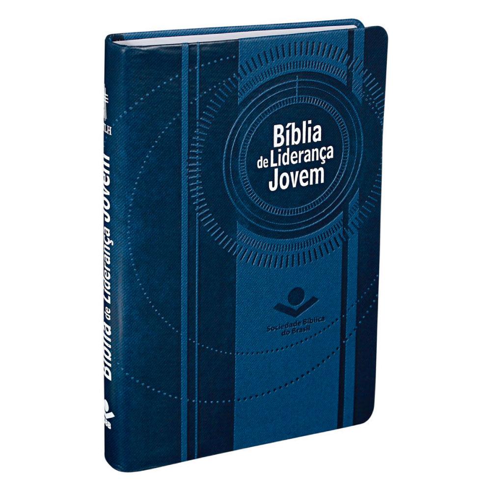 BIBLIA LIDERANÇA JOVEM CP SINT AZUL