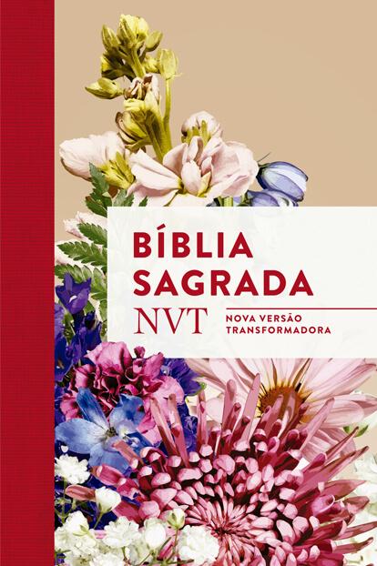 Bíblia NVT - Buquê (letra normal/flexível)