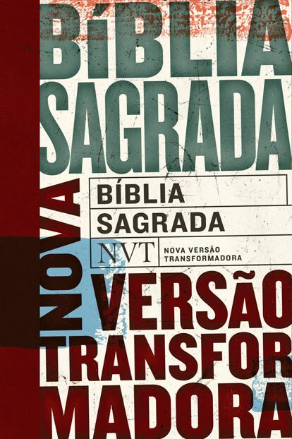 Bíblia NVT - Tipos (letra normal/brochura c/ orelhas)