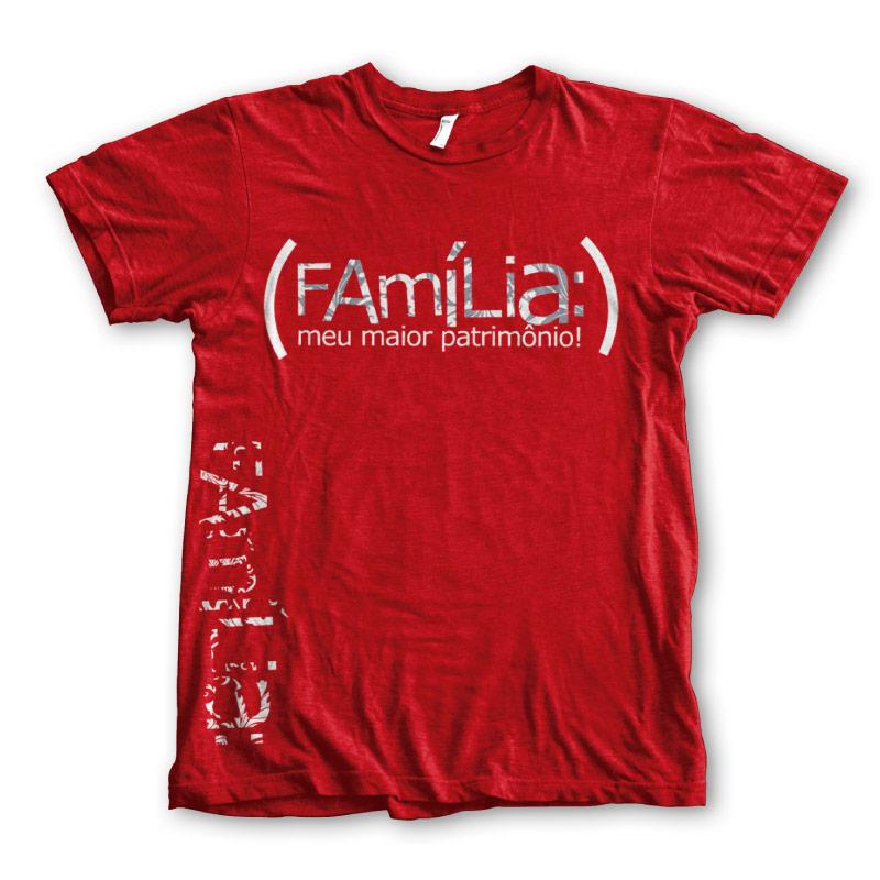 Camiseta Família Meu Maior Patrimônio