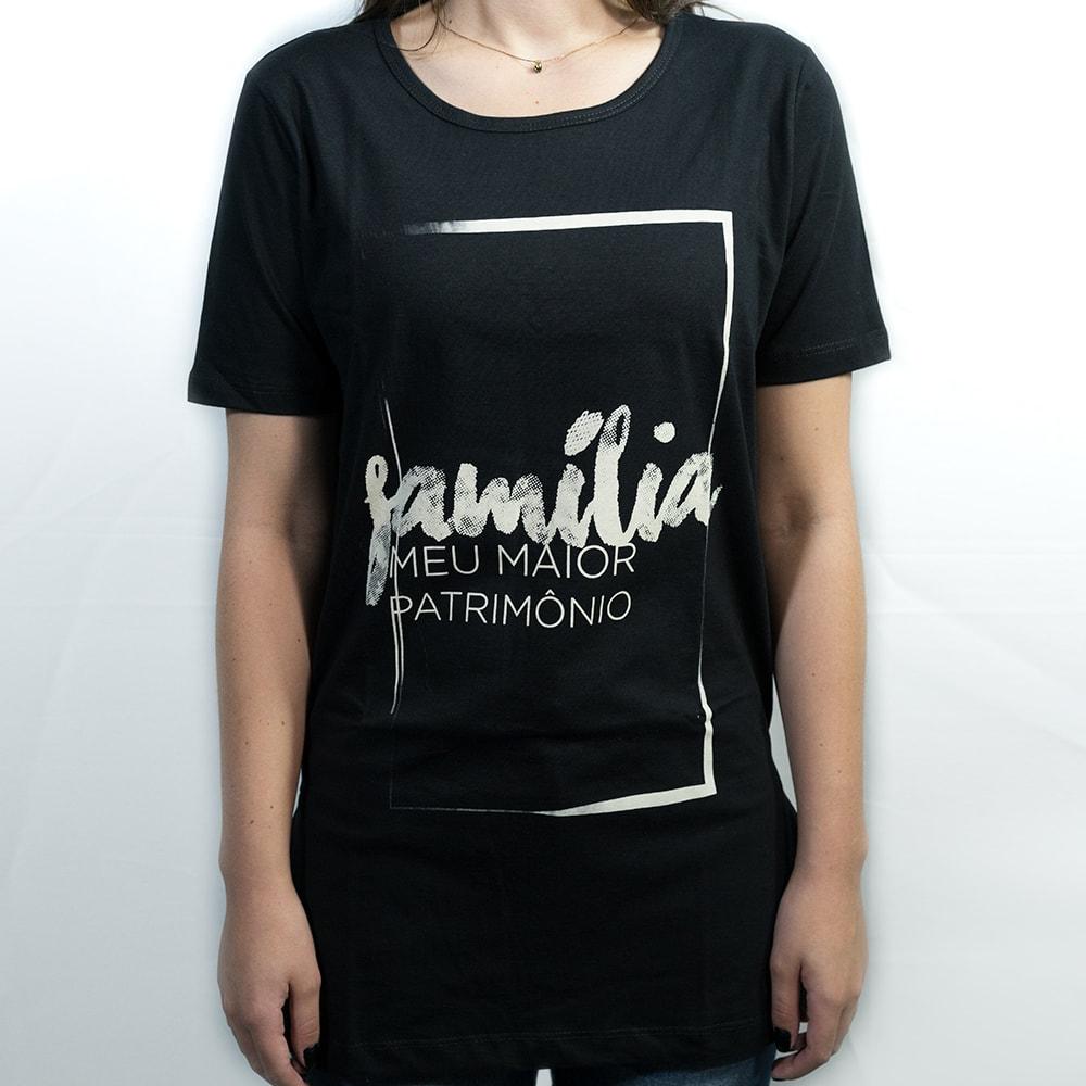 CAMISETA - FAMILIA MOLDURA FEMININA