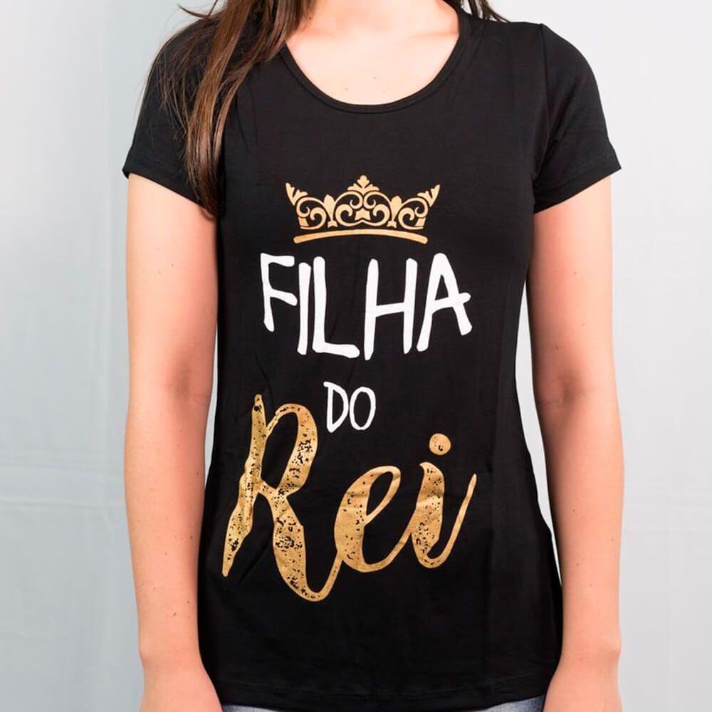 Camiseta Infantil Filha do Rei