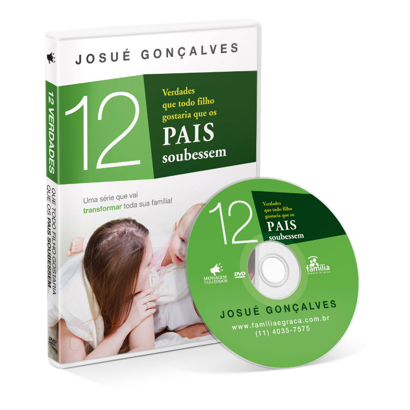 DVD - 12 verdades que os filhos gostariam que os Pais soubessem