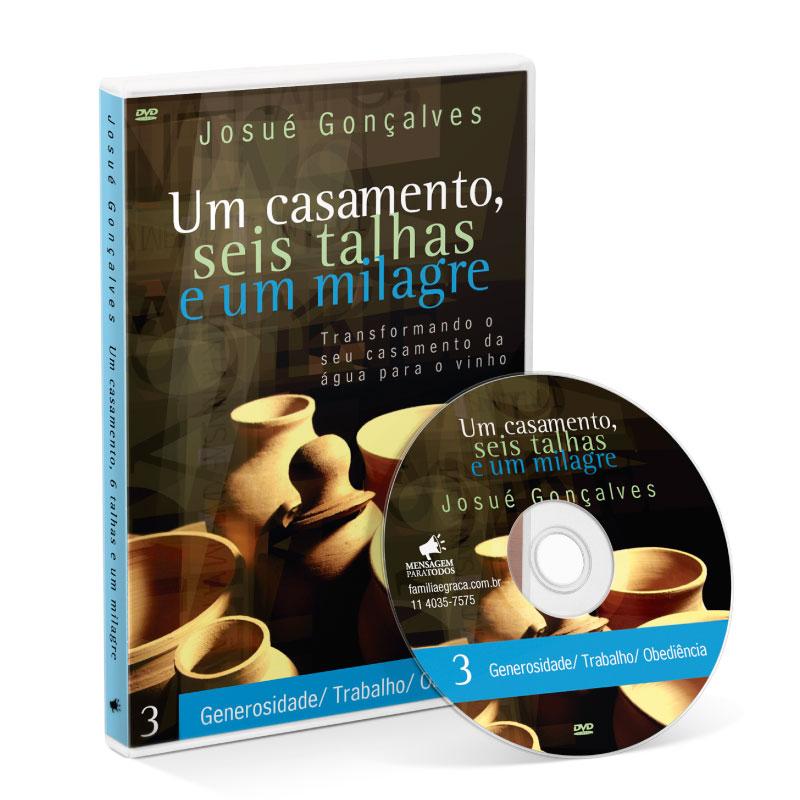 DVD - 1 Casamento - 6 Talhas - 1 Milagre (Parte 3)