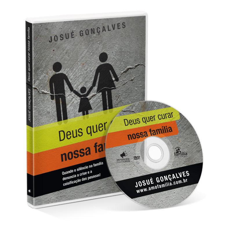 DVD - Deus quer curar nossa família