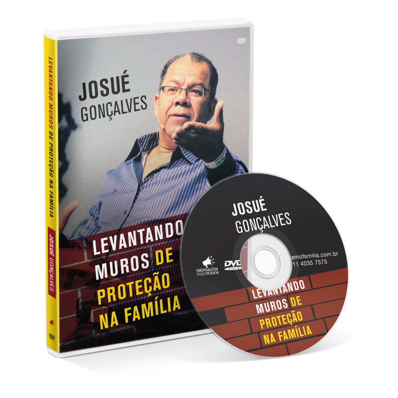 DVD - Levantando muros de proteção da Família