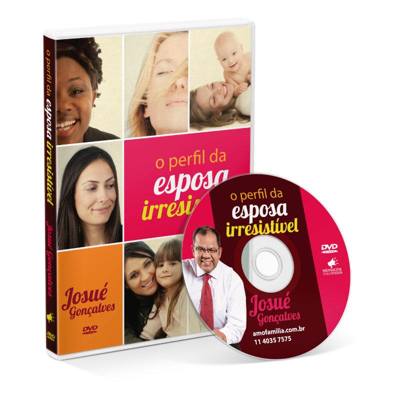 DVD - O perfil da Esposa irresistivel