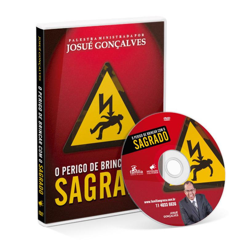 DVD - O perigo de Brincar com o Sagrado