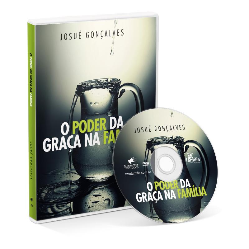 DVD - O poder da graça na Família