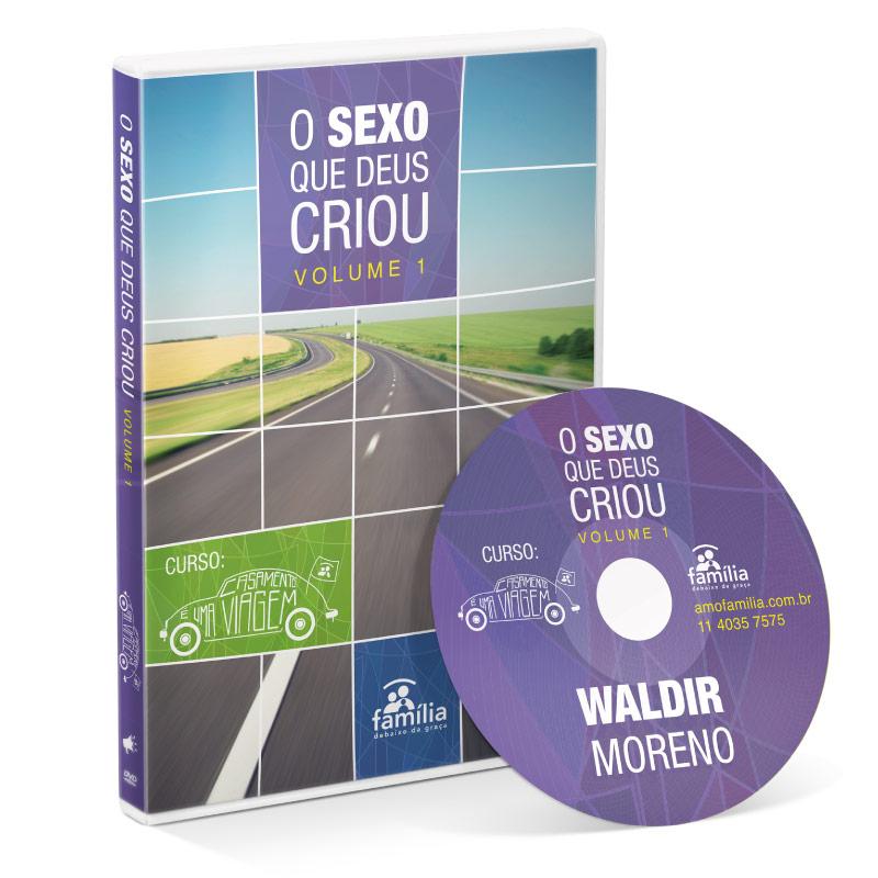 DVD - O Sexo que Deus criou - Vol 1