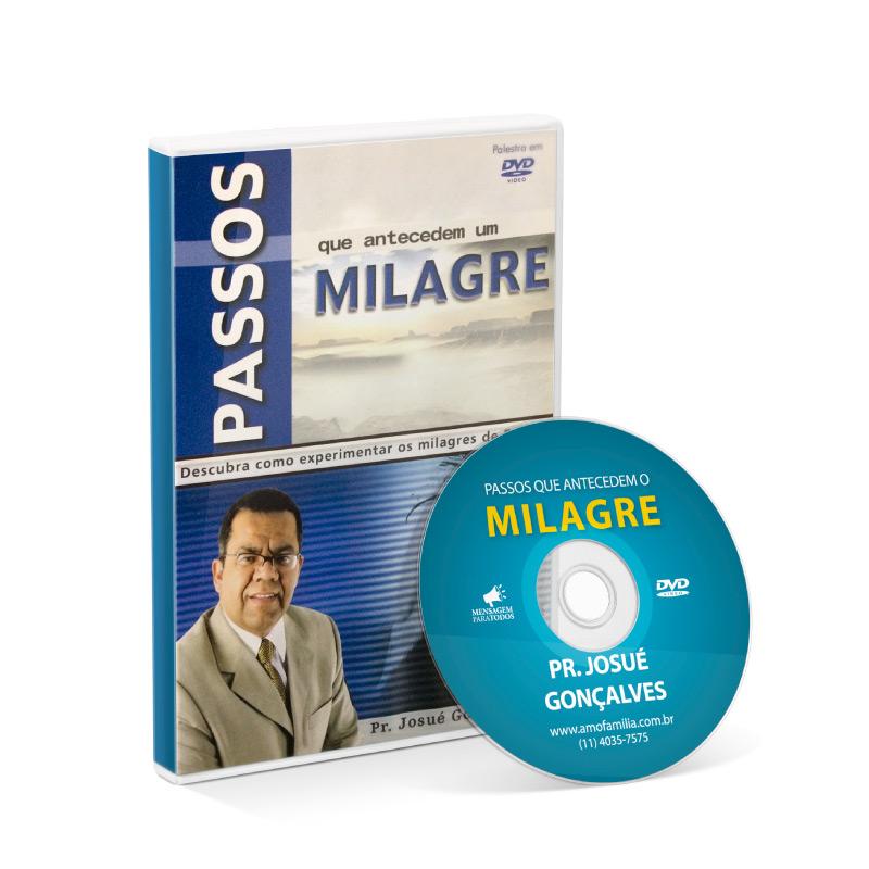 DVD - Passos que Antecedem um Milagre