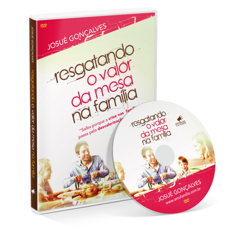 DVD - Resgatando o valor da mesa na família