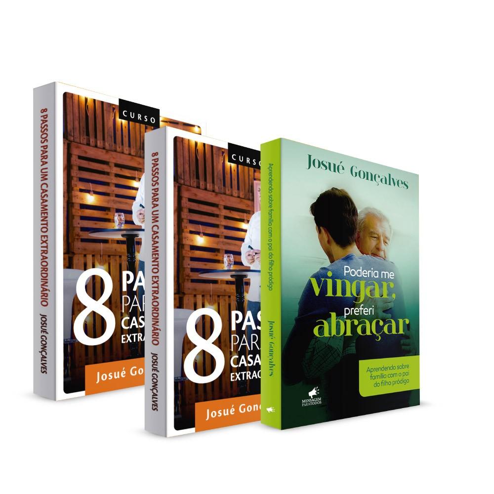 Kit - 8 Passos para um Casamento Extraordinário - Box DVDs + Livro + Lançamento