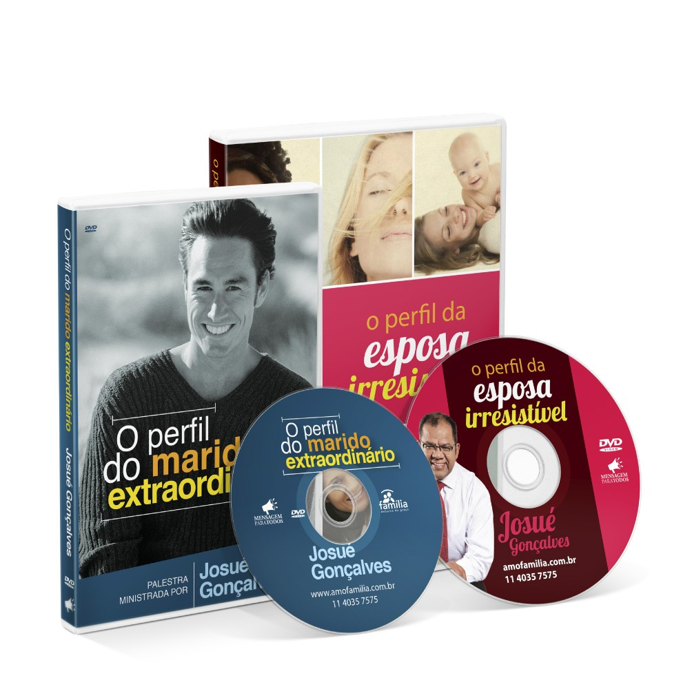 KIT DE DVD- CASAL IRRESISTIVEL
