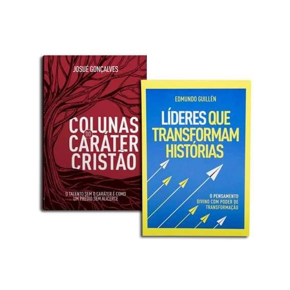 KIT - COLUNAS DO CARÁTER CRISTÃO + LÍDERES QUE TRANSFORMAM HISTÓRIAS