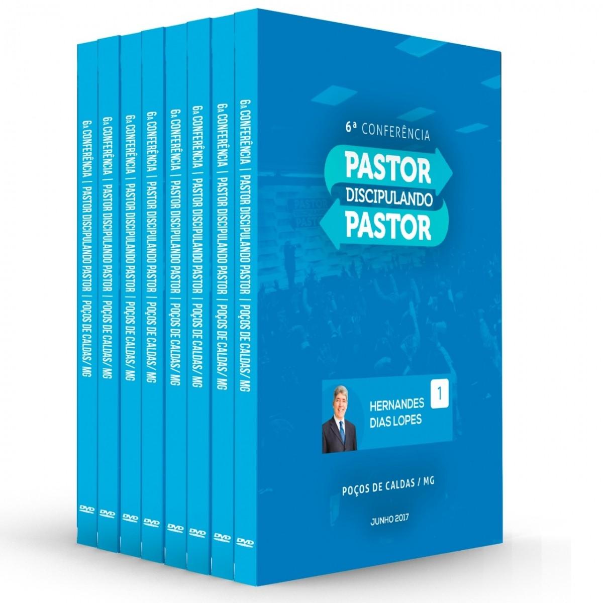 KIT DVDs Pastor Discipulando Pastor 2017 (11 DVDs)