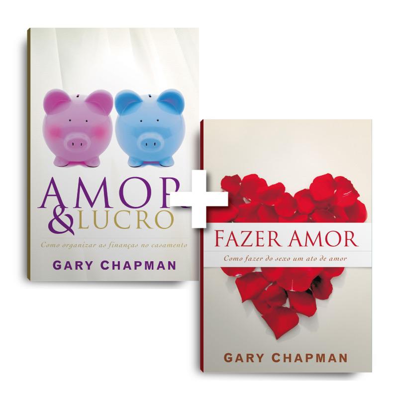 Kit Fazer amor + Amor e Lucro (2 Livros)