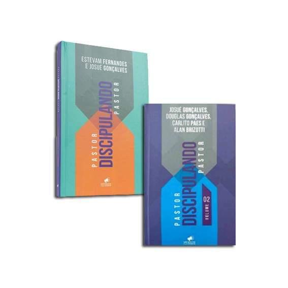 Kit Pastor Discipulando Pastor volumes 01 e 02
