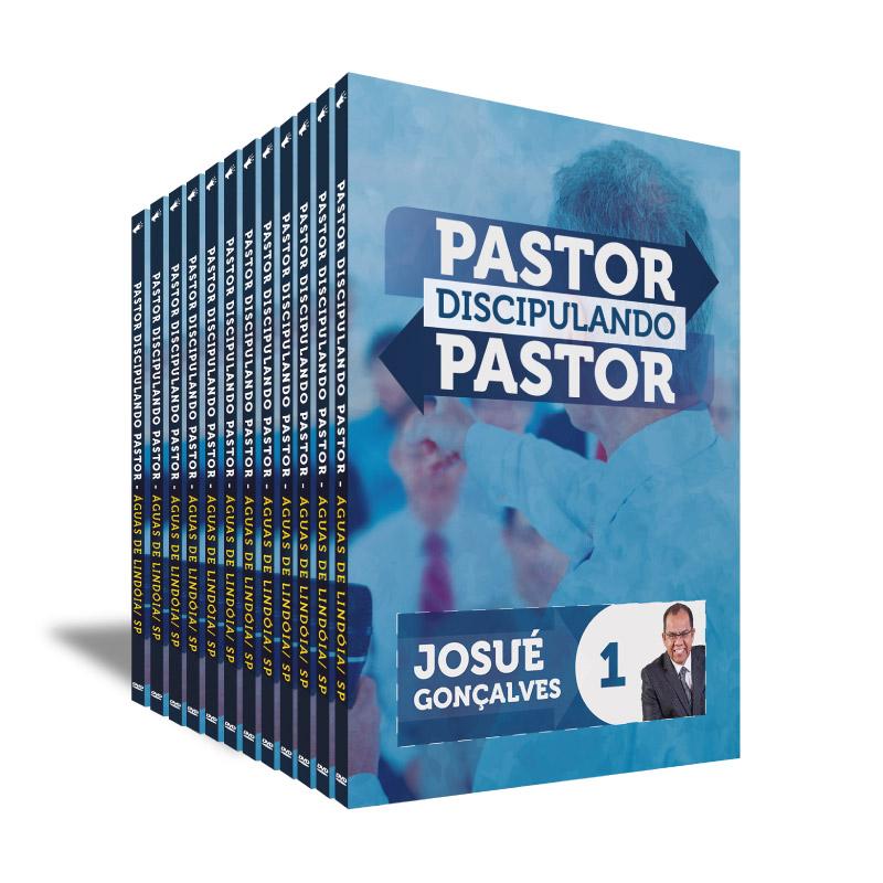 KIT DVD`s Pastor Discipulando Pastor 2016