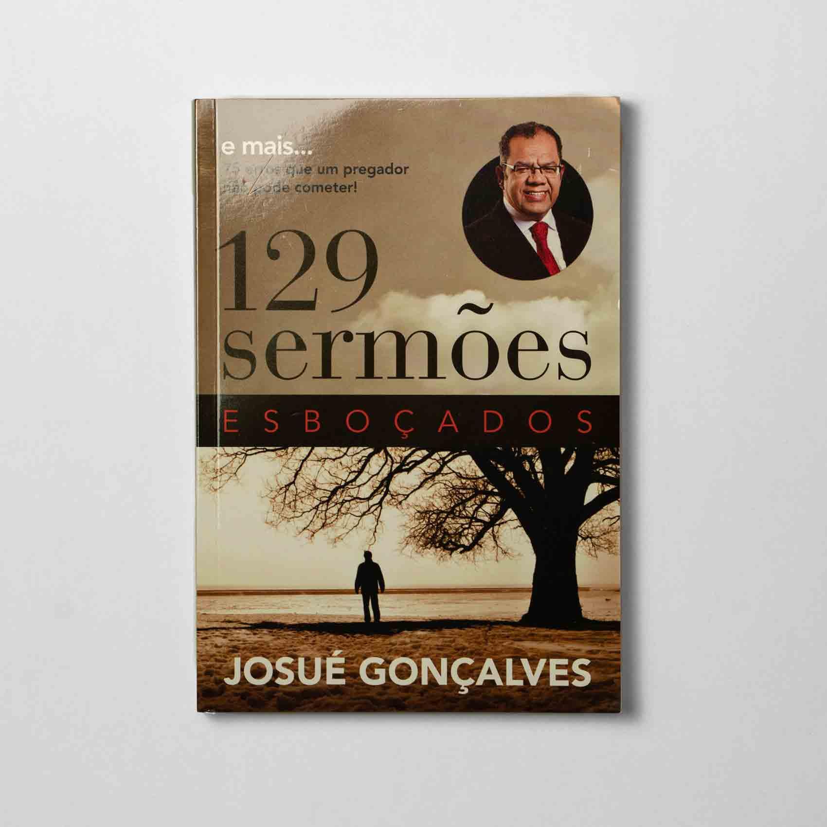 Livro - 129 sermões esboçados