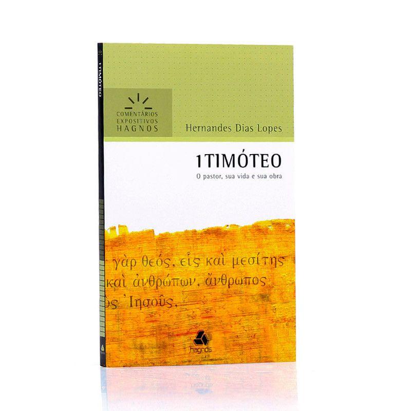 LIVRO- 1 TIMÓTEO- COMENTÁRIO EXPOSITIVOS