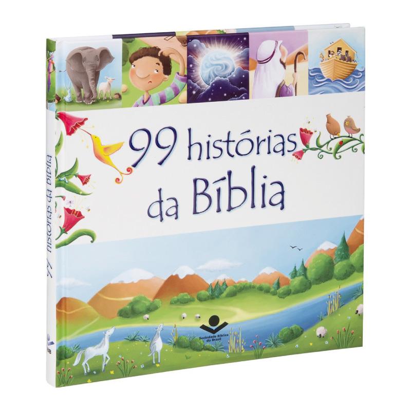 Livro - 99 Historia da Biblia CP Dura Ilustr